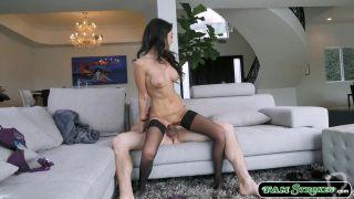 Free Porn Videos | Stepnephew licks and fucks his hot busty stepaunts pussy