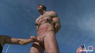 Tied And Punished Under The Blue Sky