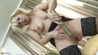 Mature Slut Is In Love With A Huge Dildo.
