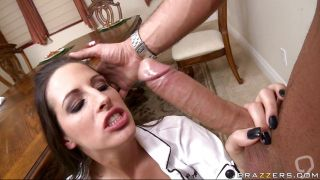 Kortney Kane Gets Some Cock At The Dinner Table