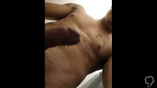 Touching myself in the shower