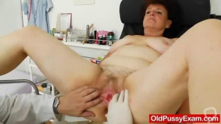 Fuck Hole examination plus a busty mature woman