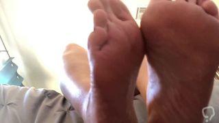 Sweaty Feet Tease POV