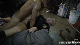 Tall blonde big ass Chop Shop Owner Gets Shut Down