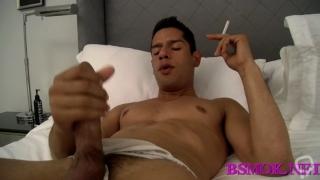 active gay dude smokes and fucks video