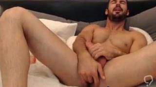 Bearded Hunk Teasing Ass