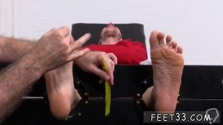 Best gay men kiss feet Kenny Tickled In A Straight Jacket