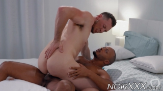 Big cocked black doctor anally fucked by muscular hunk