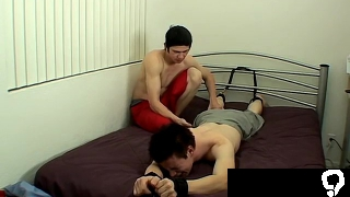 boys wearing panties gay sex Poor Brent Gets Tickled