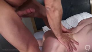 Beefy guys barebacking