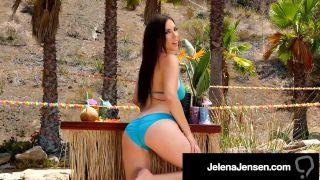 Penthouse Pet Jelena Jensen Masturbates Her Sweet Snatch!