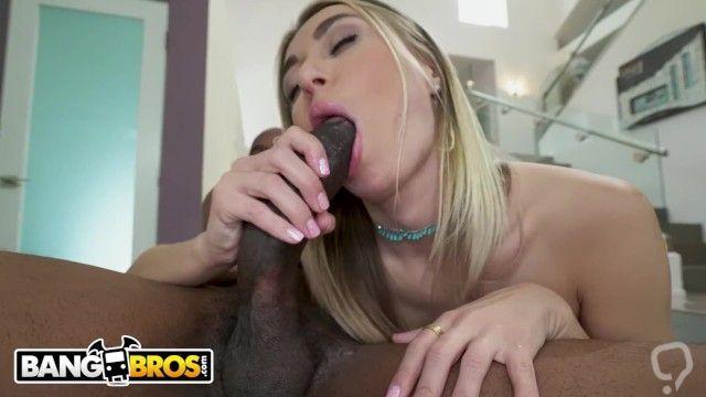 BANGBROS - Natalia Starr Craves Big Black Cock And Charlie Mac Delivers