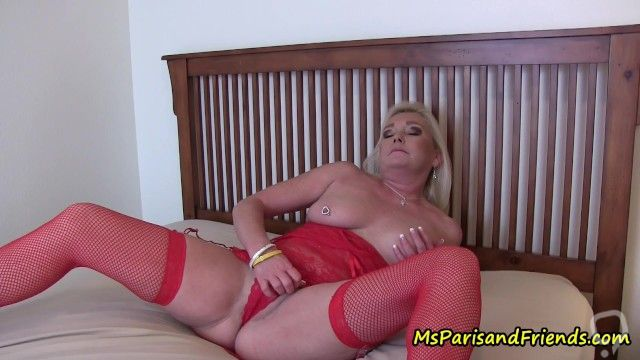 Watching Step-Mommy Masturbate with Ms Paris Rose