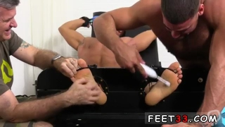 Cute emo boys gay porn at spa first time Muscular Tyrell Tickled