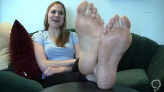 Beautiful Blonde Feet