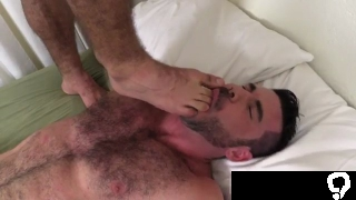 Free boy ass and feet is smelling another male foot gay Billy  Ricky In Bros  Toes 2
