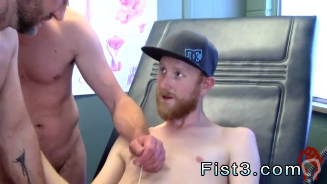 Gay fist porno and time fast guy sex video xxx First Time Saline Injection for Caleb