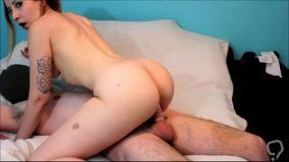 Petite Latina MILF rides cock until she orgasms