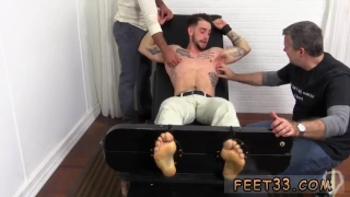 Gay lick hairy mens legs KC Gets Tied Up  Revenge Tickled