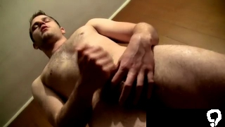 Gay uniform bondage sex Piss Lube For Jerking Welsey