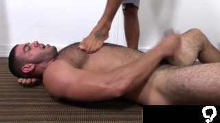 Guy gets toes sucked gay Johnny Hazzard has a plan to teach Ricky Larkin