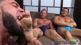 Guy sucking teachers dick to pass gay porn Ricky  To Worship Johnny  Joey