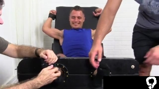 Homemade gay feet Jock Tommy Tickle d