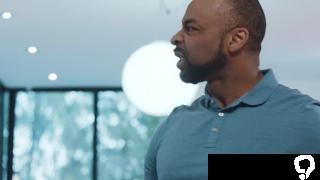 Hot agent interracial sex and cumshot