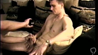 Huge straight dick carefully taken care of by gay Latino