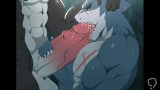 Shark blowjob cock orca Furry yiff