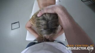 Angry masseur fucks his client's daughter POV
