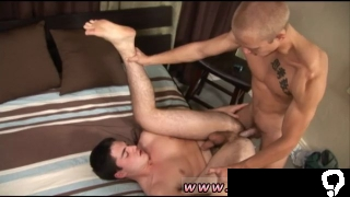 Mega huge cock gay sex cum first time Then Rob rolls Mick onto the bed for a great