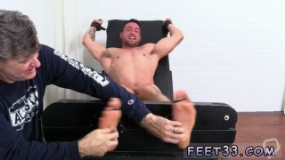 Men in boxers playing with twink gay porn first time Casey More Jerked  Tickled