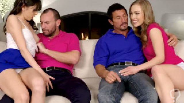 Diana Grace   Judy Jolie In Stepdaughter Makeover Muff