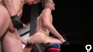 Moving gay sex galleries and muscled milky white tube Axel Abysse and Matt Wylde bathe