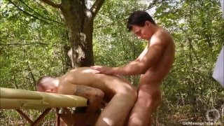 Outdoor Gay Massage Table Sex