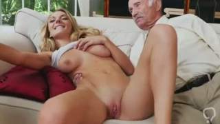 Old fucking young babes Molly Earns Her Keep