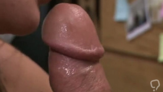 Handjob pussy tease cumshot Card dealer cashes in that pussy