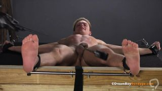 Blonde High School Twink Spanked and Whipped BDSM Gay Bondage