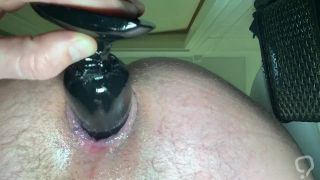 Shower Anal Buttplug Play Close Up