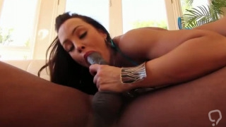 Busty MILF craves for a black cock