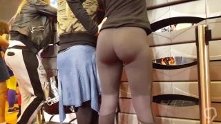 Perfect Grey Ass Leggings Reup