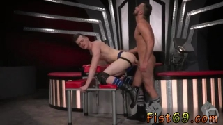 Student gay porn sex movie Sub fuckfest pig Axel Abysse crawls on palms and knees over