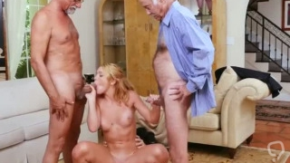Horny old men and daddy we should Frannkie And The Gang Tag Team A Doo