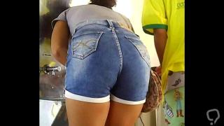 Novinhas de micro short socado teen hot shorts mini A 79