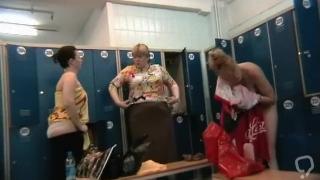 Hidden cam in the ladies locker