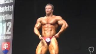 Bodybuilder Posing on Stage - Martin N.