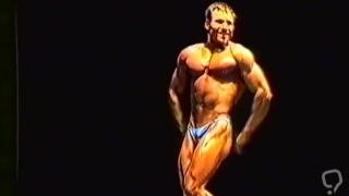 British Bodybuilder Flexes on Stage - Jeff W.