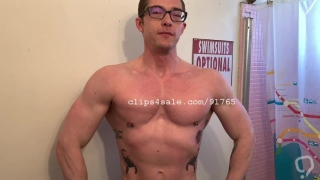 Muscle Fetish - Will Parks Flexing Part2 Video1