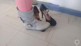Boots crush heels 2